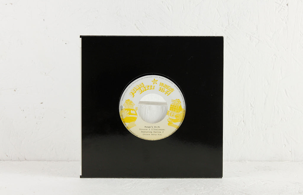 "Herbalist ft. Top Cat (Prince Fatty Mix) / Divorce A L'Italienne ft. Marina P (Prince Fatty Mix) – 7"" Vinyl"