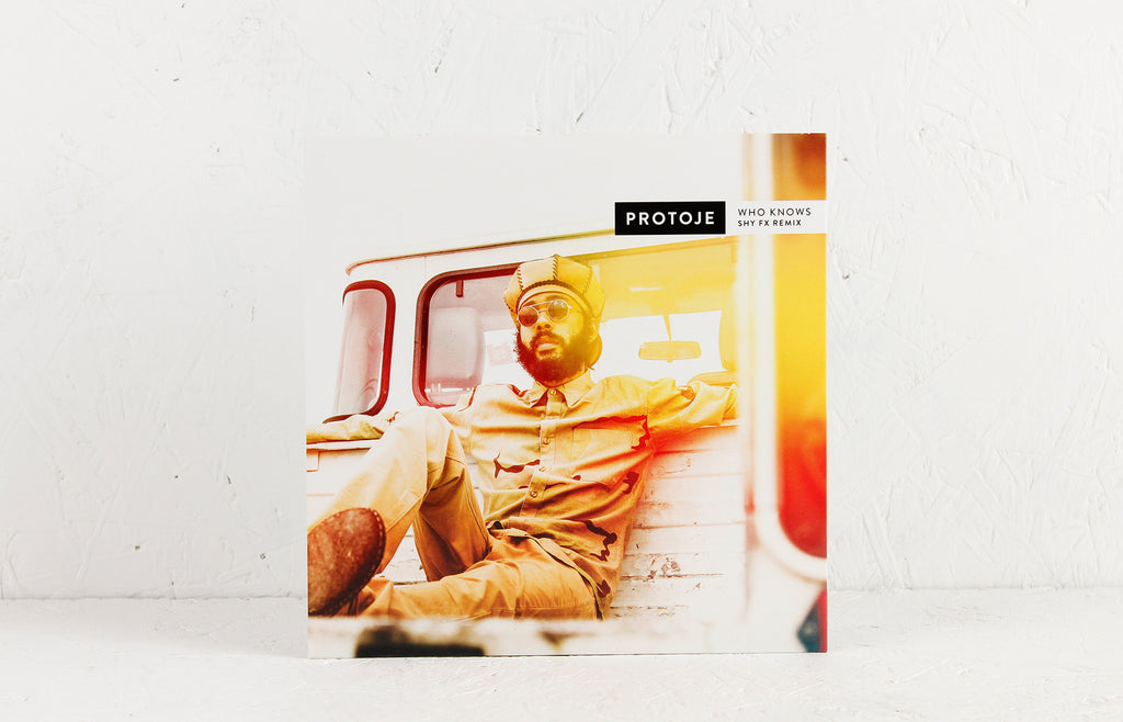 "Protoje ft. Chronixx – Who Knows (Shy FX Remix) / Sudden Flight – 7"" Vinyl"