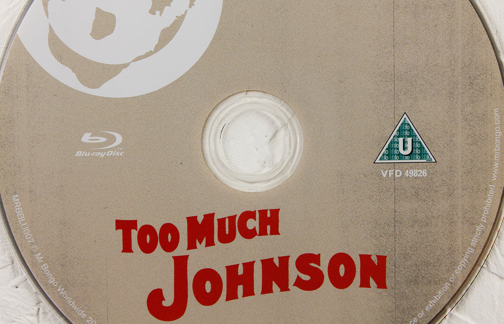 Too Much Johnson by Orson Welles