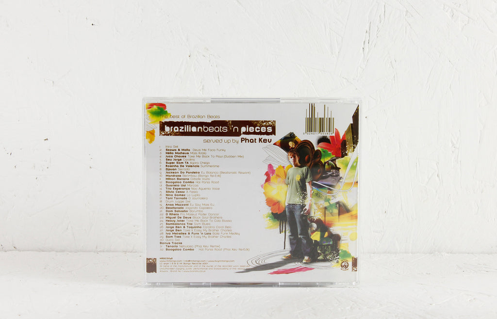 Brazilian Beats 'n' Pieces mixed by Kev Luckhurst – CD