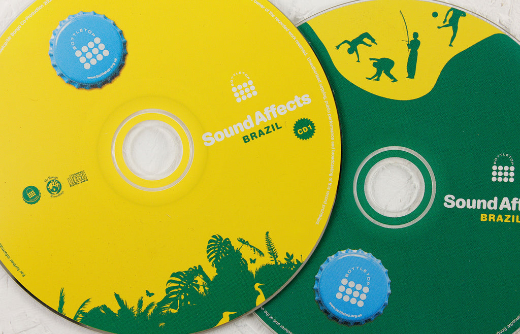 Bottletop presents Sound Affects: Brazil – 2-CD