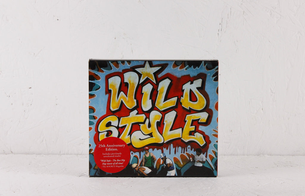 Wild Style OST 25th Anniversary Edition 2-CD - Mr Bongo