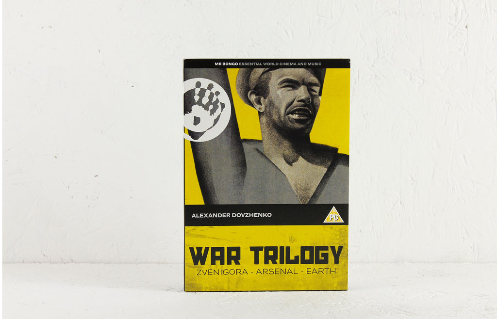 War Trilogy – Earth (Zemlya), Zvenigora, Arsenal – 3-DVD Boxset
