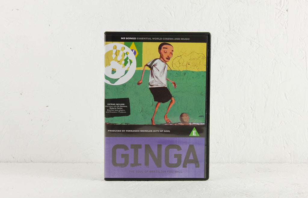 Ginga: The Soul Of Brazilian Football – DVD