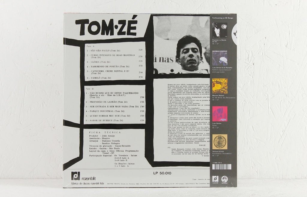 Tom Ze - Grande Liquidacao - Vinyl LP/CD