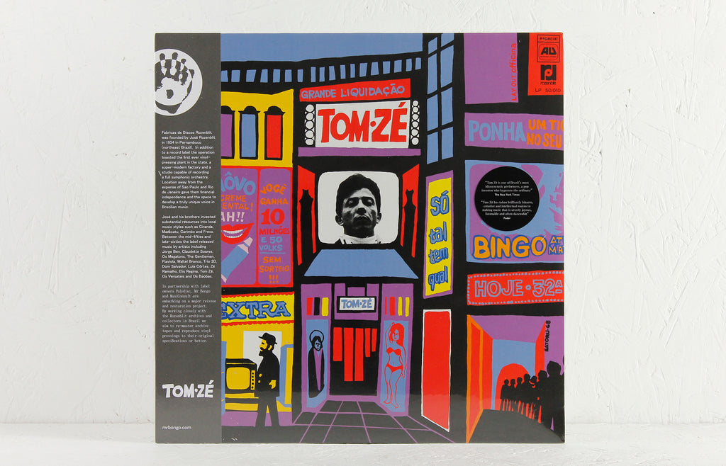 Tom Ze – Grande Liquidacao – Vinyl LP/CD