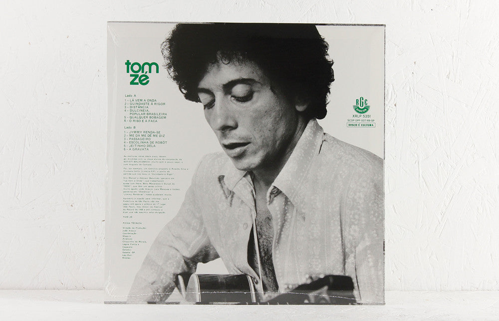 Tom Ze - Tom Ze - Vinyl LP/CD