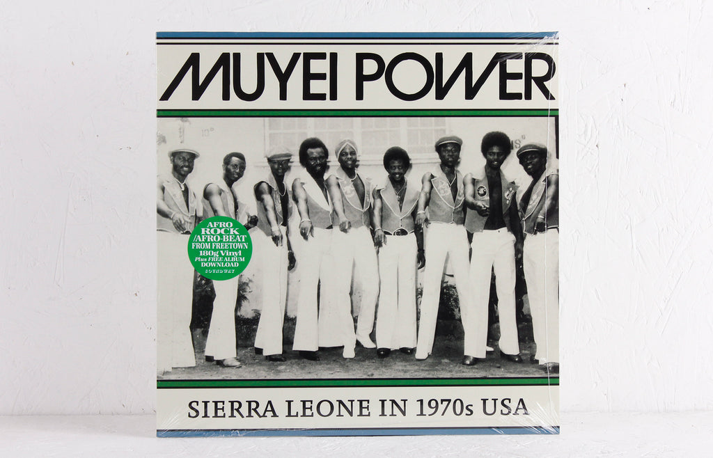 Muyei Power ‎– Sierra Leone In 1970s USA – Vinyl LP