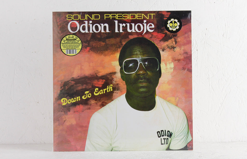 Odion Iruoje ‎– Down To Earth – Vinyl LP