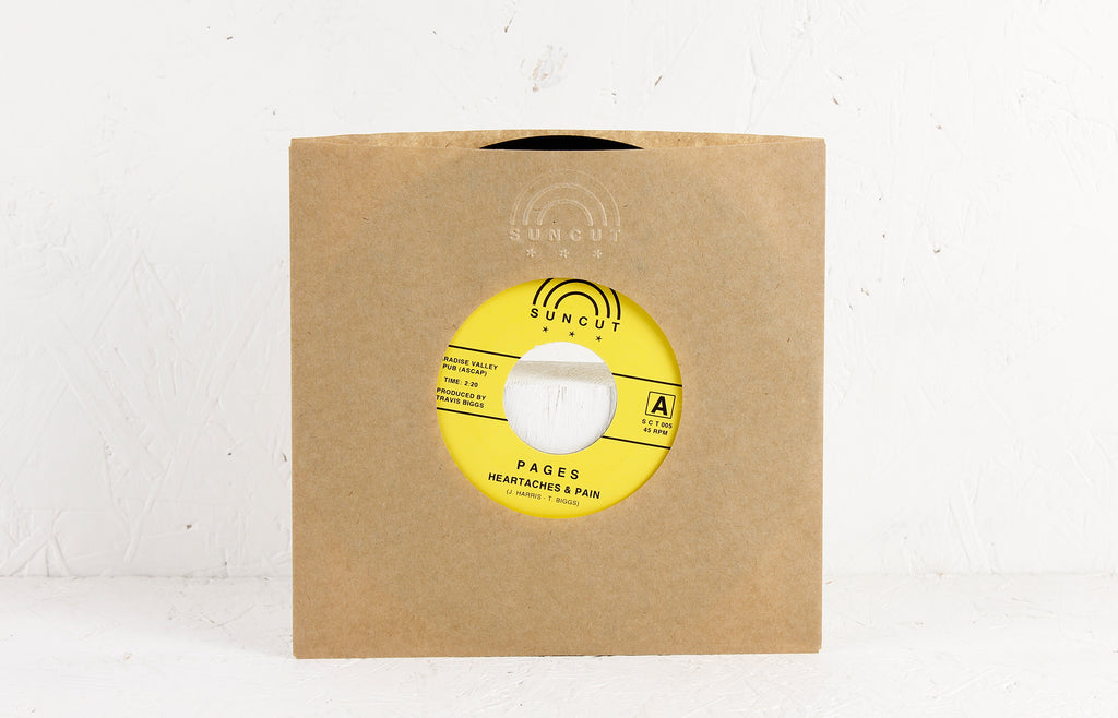 Heartaches & Pain / Mack – Vinyl 7""