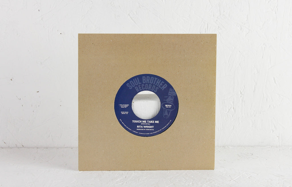 "Rita Wright ‎– Touch Me Take Me / Love Is All You Need – 7"" Vinyl"