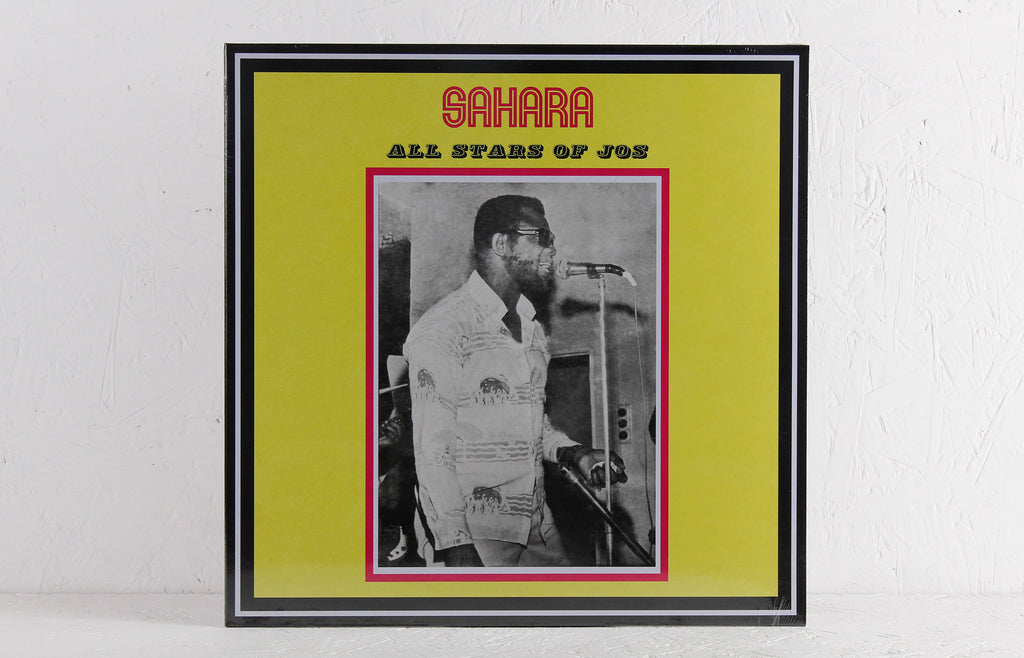Sahara All Stars Band Jos ‎– Sahara All Stars Of Jos – Vinyl LP