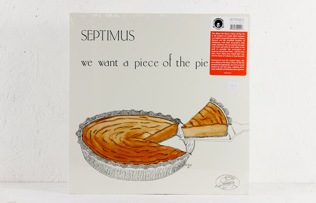 We Want A Piece Of The Pie – Vinyl LP