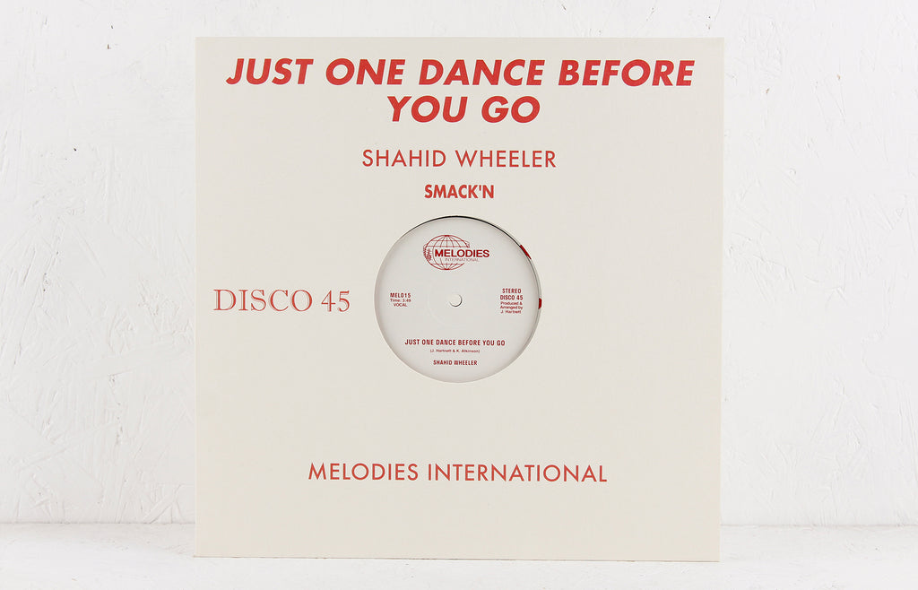 Just One Dance Before You Go – Vinyl 12""