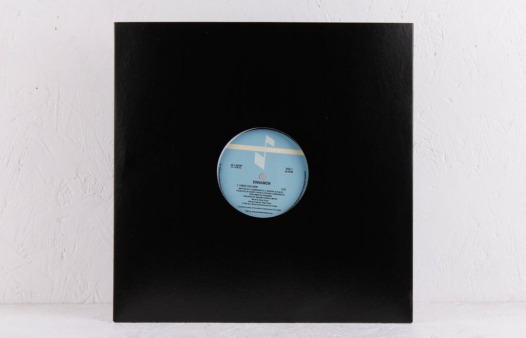 I Need You Now – Vinyl 12""