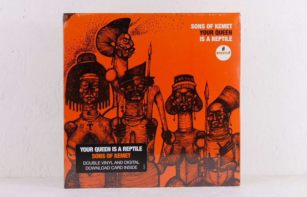 Your Queen Is A Reptile – Vinyl LP