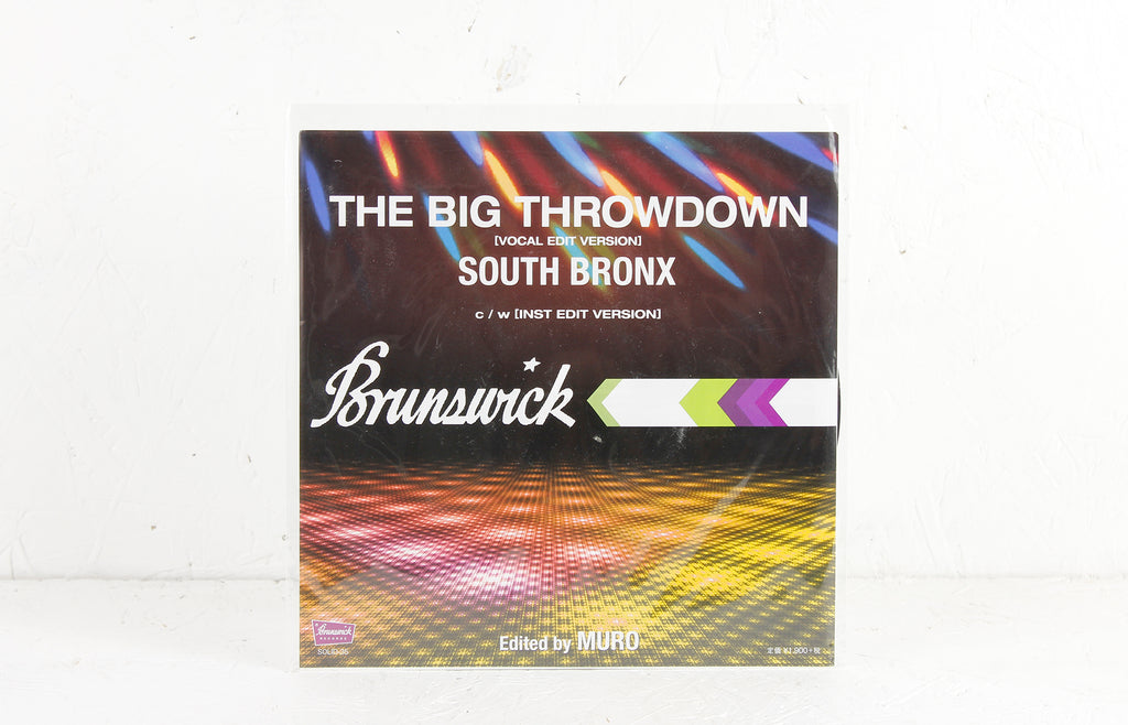 Big Throwdown (DJ Muro edits) – Vinyl 7""