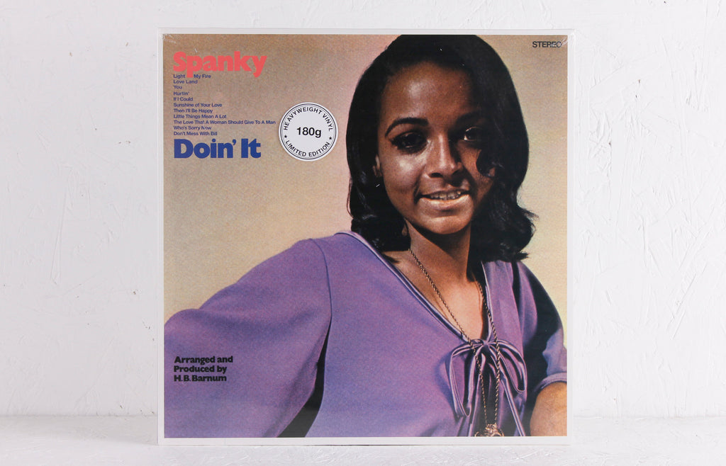 Spanky Wilson ‎– Doin' It – Vinyl LP
