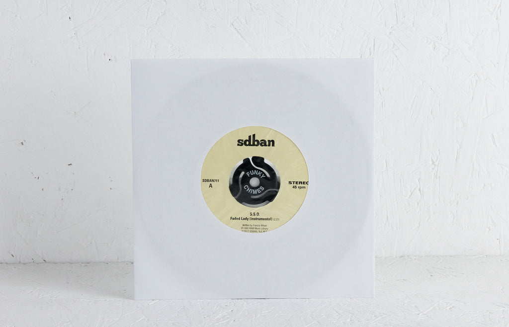 S.S.O. / Roland Thyssen ‎– Faded Lady (Instrumental) / Riff For Peggy – Vinyl 7""