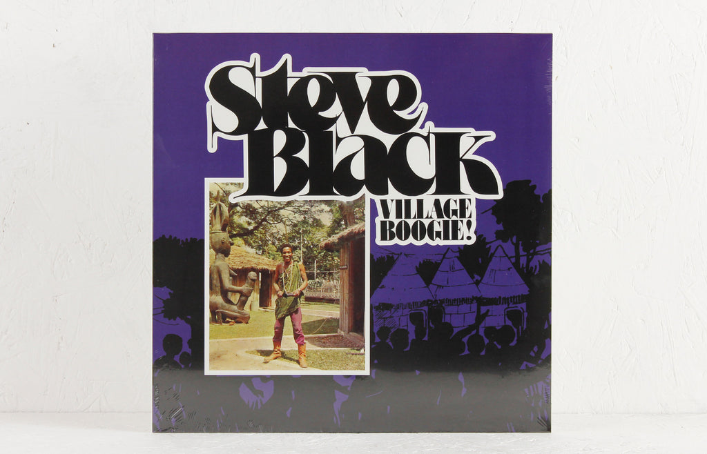 Steve Black ‎– Village Boogie – Vinyl LP