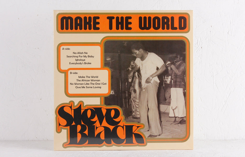 Steve Black ‎– Make The World – Vinyl LP