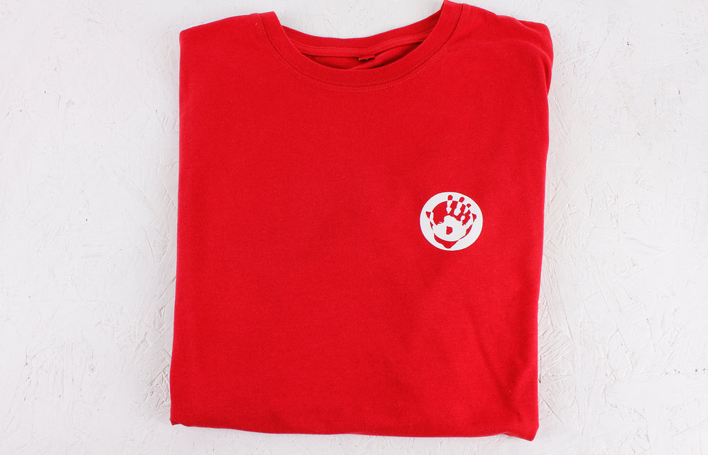 Mr Bongo T-Shirt - Red/White