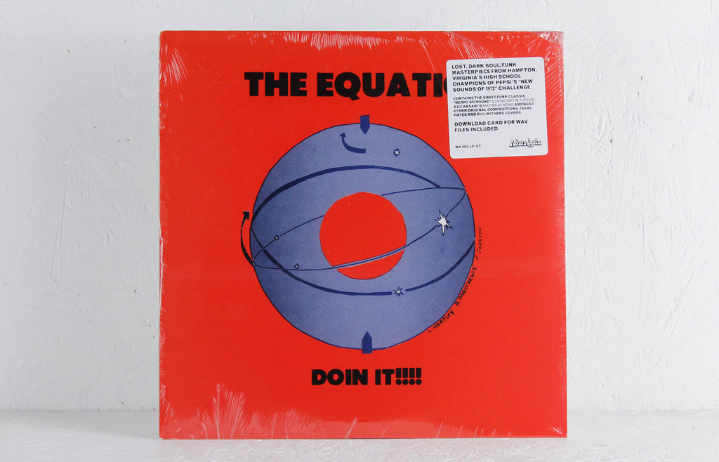 The Equatics ‎– Doin It!!! – Vinyl LP