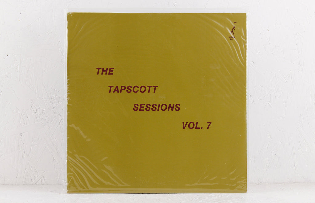 The Tapscott Sessions Vol. 7 (solo piano) – Vinyl LP