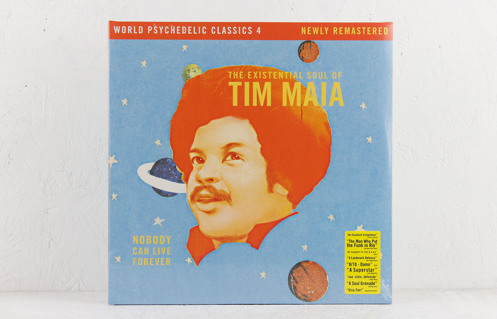 Nobody Can Live Forever (The Existential Soul Of Tim Maia) – Vinyl 2LP