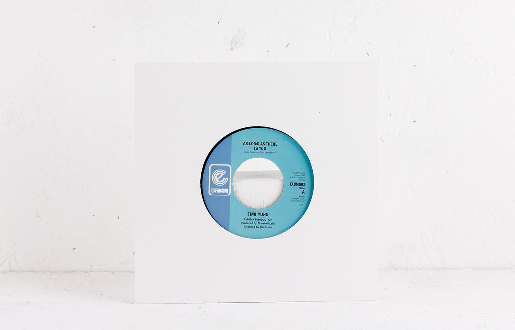 It'll Never Be Over For Me / As Long As There Is You – Vinyl 7""