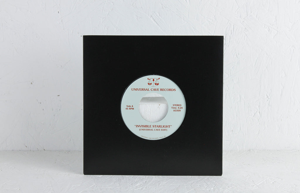 Universal Cave / The Beat Broker ‎– Invisible Starlight – Vinyl 7""