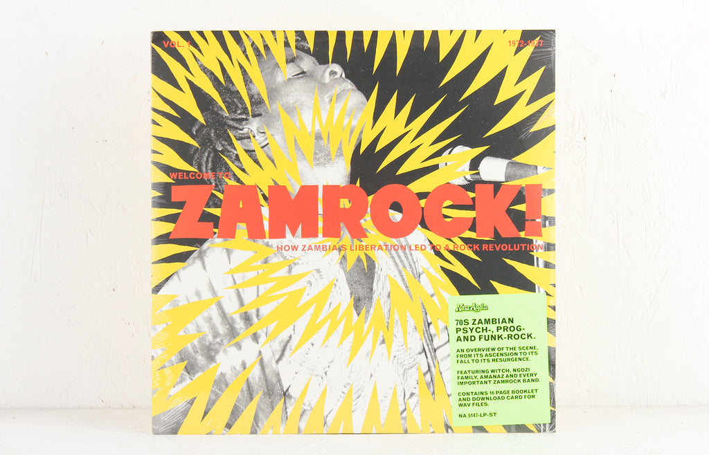 Welcome To Zamrock! Vol.1 – 2-LP Vinyl