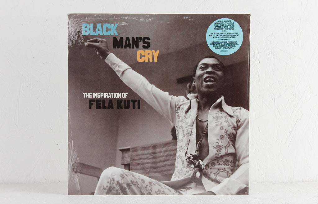 Black Man's Cry: The Inspiration Of Fela Kuti – Vinyl 2-LP