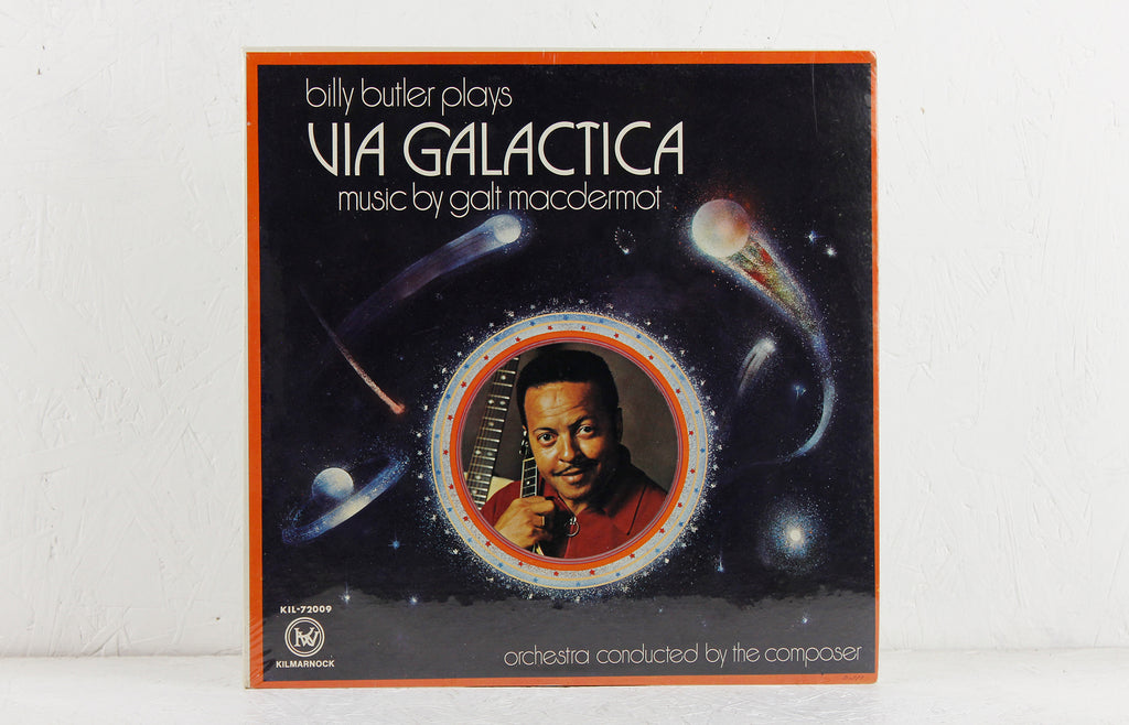 Billy Butler Plays Via Galactica – Vinyl LP