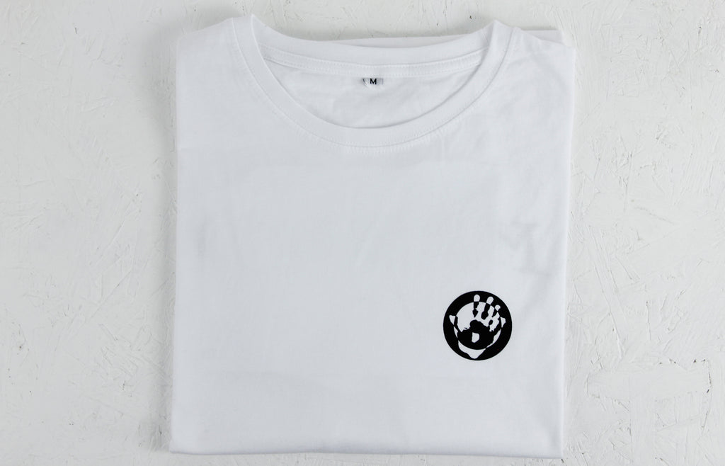 Mr Bongo T-Shirt – White/Black