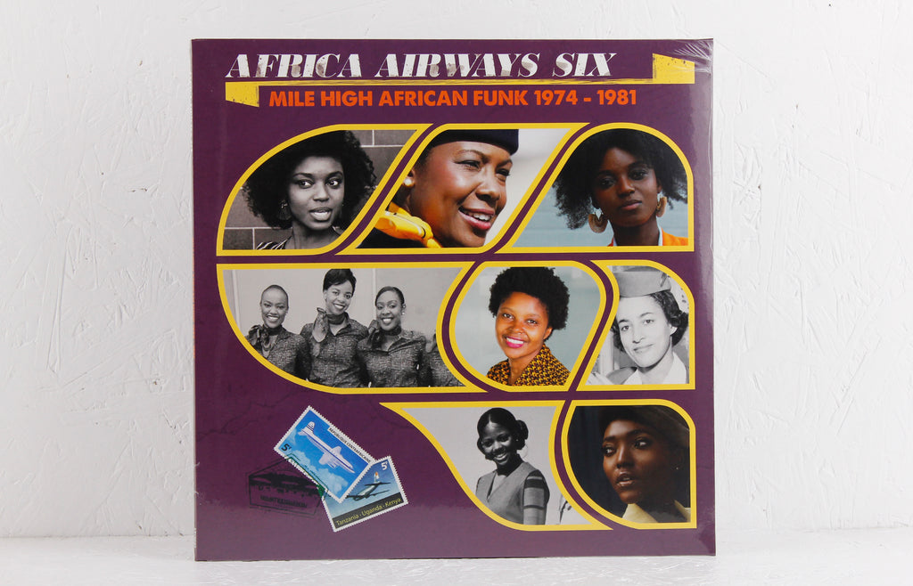 Africa Airways Six (Mile High Funk 1974 - 1981) – Vinyl LP