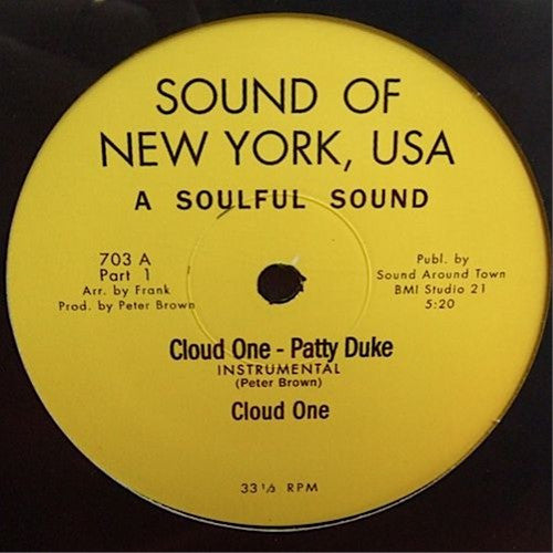 Cloud One ‎– Patty Duke – 12""
