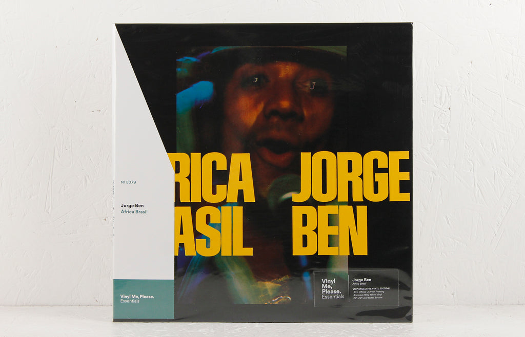 África Brasil (Vinyl Me Please Essentials Yellow Vinyl version) – Vinyl LP