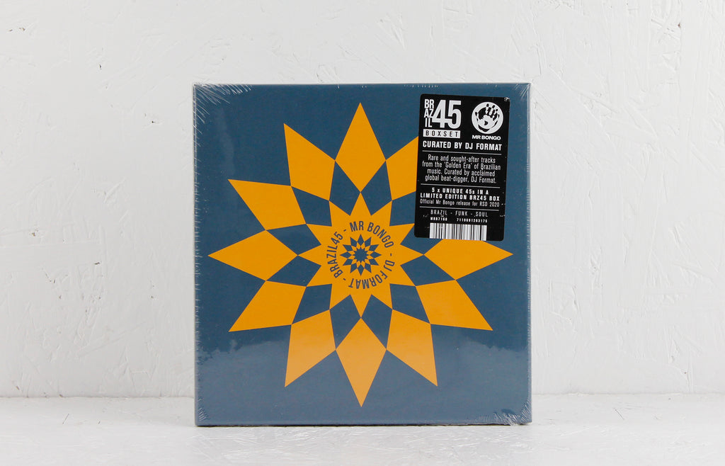 "Brazil 45 Boxset Curated By DJ Format – 5 x 7"" Vinyl"