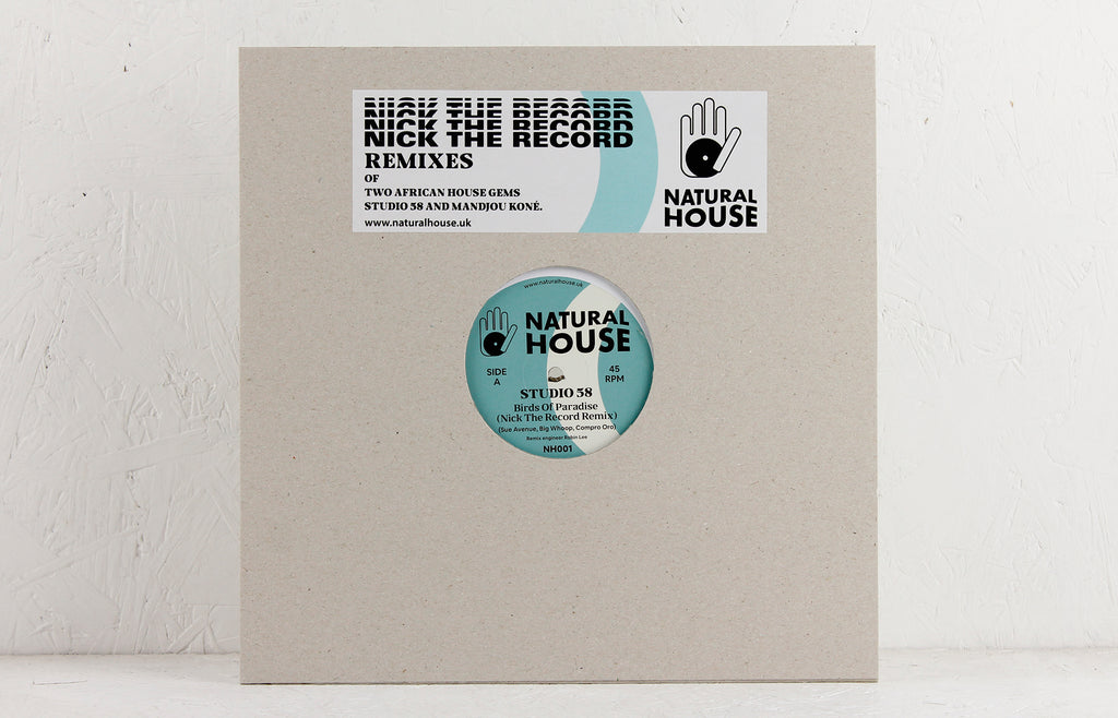 Nick The Record Remixes – Vinyl 12""