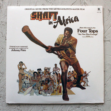 Johnny Pate ‎– Shaft In Africa