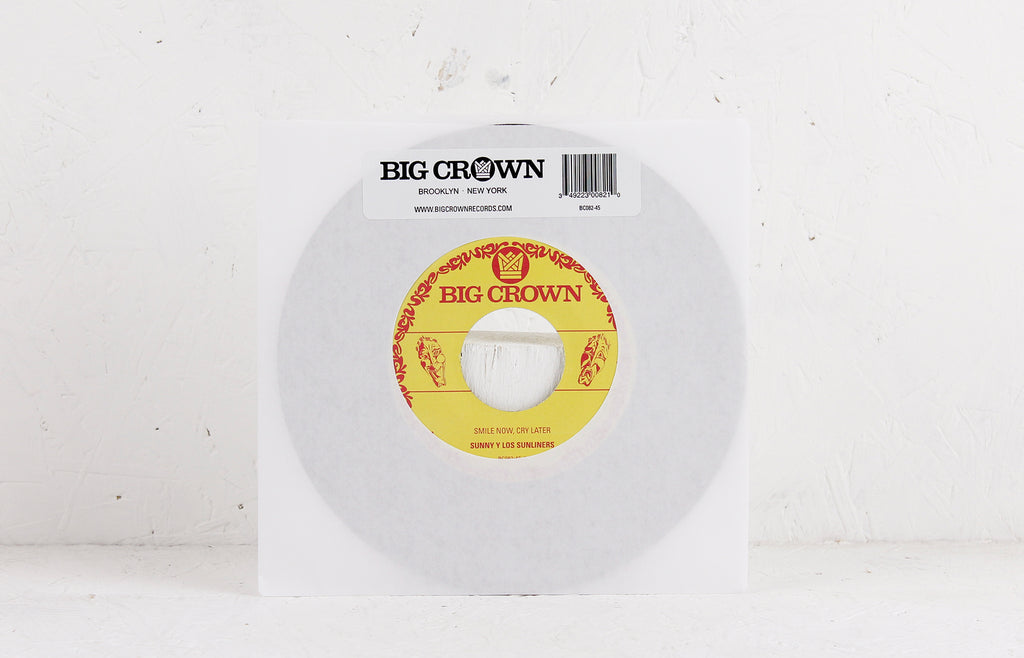 Smile Now, Cry Later / I Only Have Eyes For You – Vinyl 7""