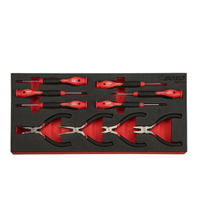 10 Pc Precision Screwdriver & Mini Plier Set - Roost Factory Hoosier Offroad