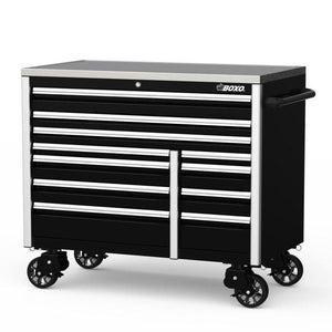 "54"" 11 Drawer Roll Cab (Gloss Black) - Roost Factory Hoosier Offroad"