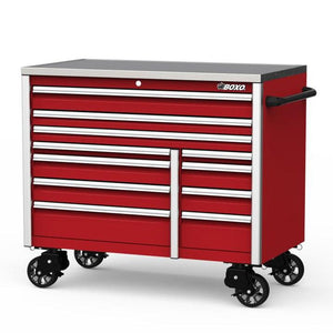 "54"" 11 Drawer Roll Cab (Gloss Red) - Roost Factory Hoosier Offroad"