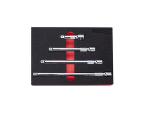 "BOXO 4 Pc 3/8"" Dr Extension Bar Set"
