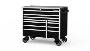 "BOXO 54"" 11 Drawer Roll Cab (Gloss Black) - Roost Factory Hoosier Offroad"