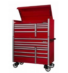 "BOXO 54"" 11 Drawer Roll Cab (Gloss Red) - Roost Factory Hoosier Offroad"