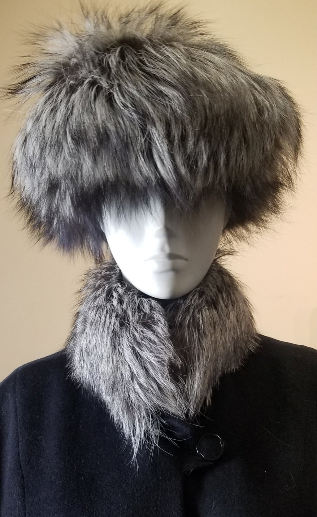 Natural Silver Fox Hat