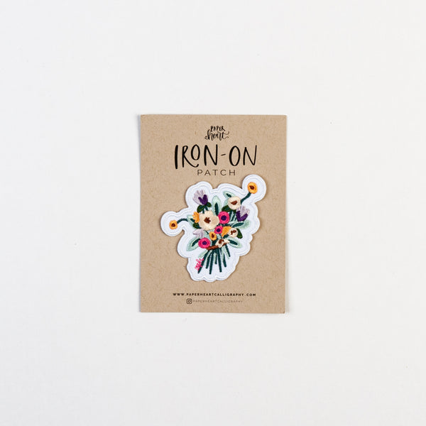 Bouquet Iron-On Patch